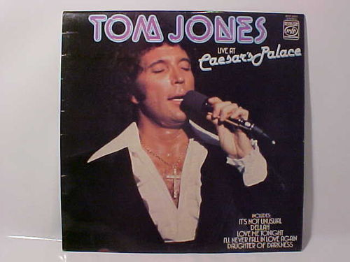 Tom Jones - Live at Caesars Palace - Schallplatte Vinyl LP - Gebraucht
