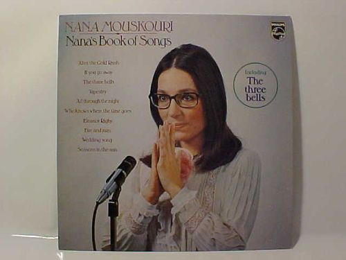 Nana Mouskouri - Nana´s Book of Songs - Schallplatte Vinyl LP - Gebraucht