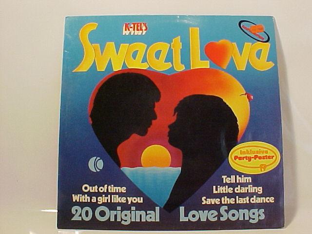 Schallplatte 20 Original Love Songs Sweet Love Vinyl Lp