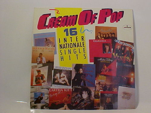 mercury - Cream Of Pop - 16 Internationale Single Hits - Schallplatte Vinyl LP - Gebraucht