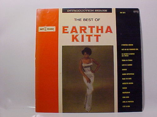 Eartha Kitt - The Best of - Schallplatte Vinyl LP - Gebraucht