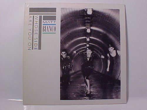 Matt Bianco - Whose Side Are You On - Schallplatte Vinyl LP - Gebraucht