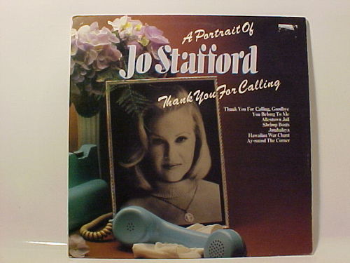 A Portrait Of Jo Stafford Thank You For Calling - Schallplatte Vinyl Doppel LP - Gebraucht