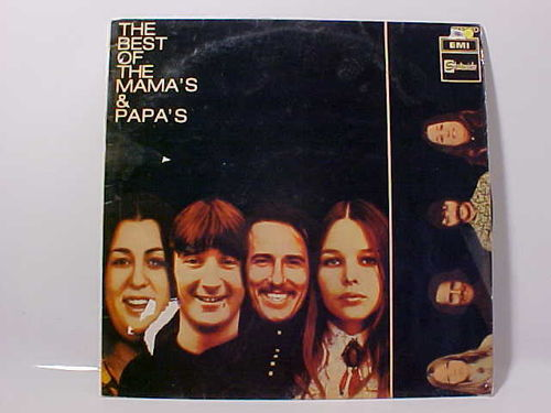The MAMA's & PAPA'S - The Best Of The Mama's & Papa's - Schallplatte Vinyl LP - Gebraucht