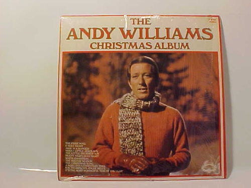 Andy Williams - The Andy Williams Christmas Album - Schallplatte Vinyl LP - Gebraucht