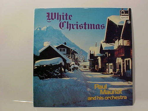 Paul Mauriat and his Orchestra - White Christmas - Schallplatte Vinyl LP - Gebraucht