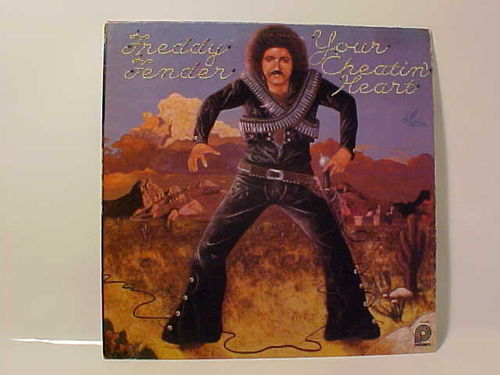 Freddy Fender Your Cheatin Heart - Schallplatte Vinyl LP - Gebraucht