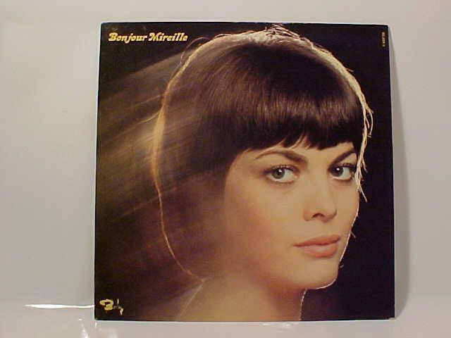 Schallplatte Mireille Mathieu Bonjour Mireille Vinyl Lp
