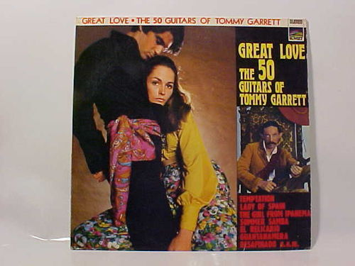 GREAT LOVE - The 50 Guitars of Tommy Garrett - Schallplatte Vinyl LP - Gebraucht