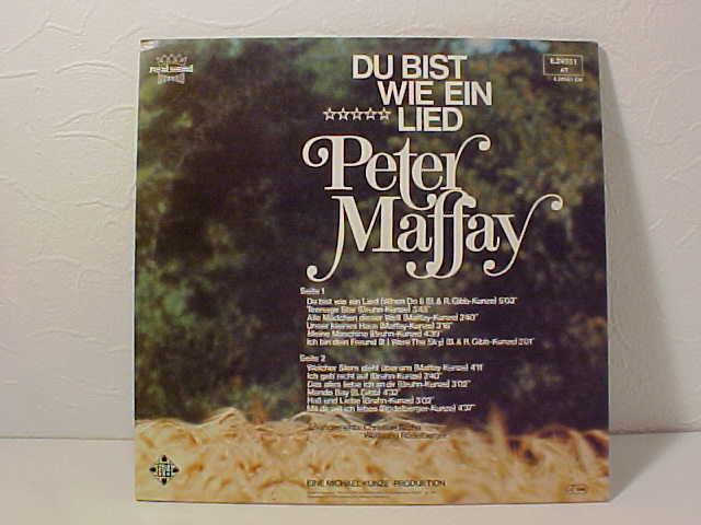 Peter Maffay Lieder