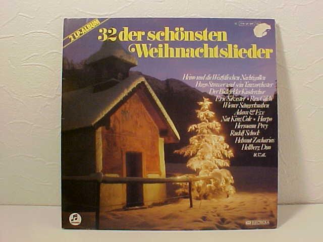 schallplatte 32 der sch nsten weihnachtslieder doppel lp. Black Bedroom Furniture Sets. Home Design Ideas