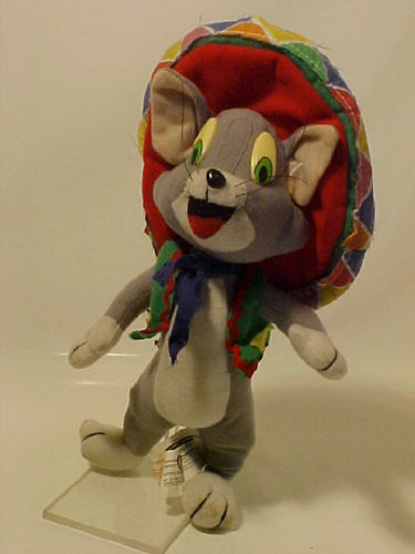 Tom - der Kater aus TOM and JERRY™ - Stofftier - 27 cm - Gebraucht