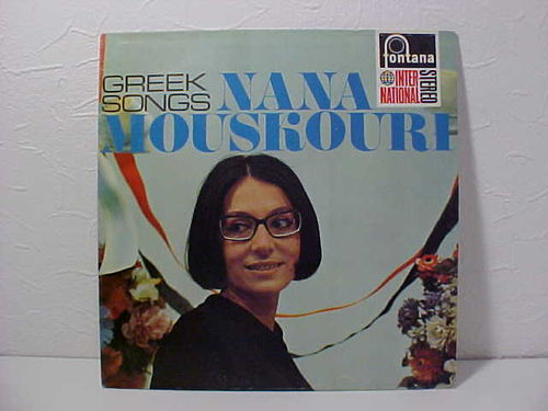Nana Mouskouri - Greek Songs - Schallplatte Vinyl LP - Gebraucht