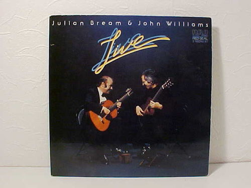 Julian Bream & John Williams - LIVE - Schallplatte Doppel LP - Gebraucht